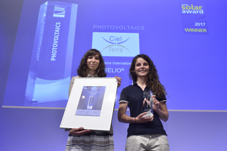 "Ciel & Terre International was honored for their product ""HYDRELIO®"""