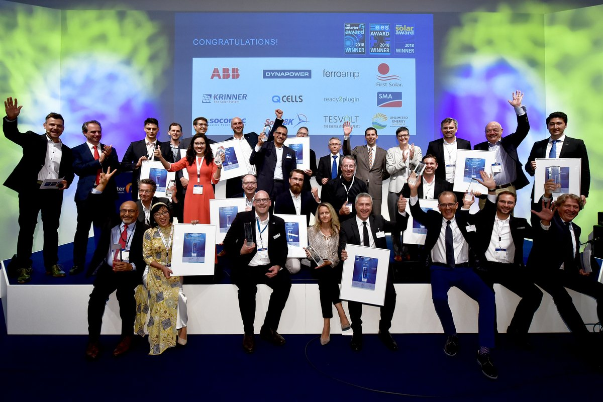 ees Award 2019 – Innovative Energy Solutions in the Spotlight - ees