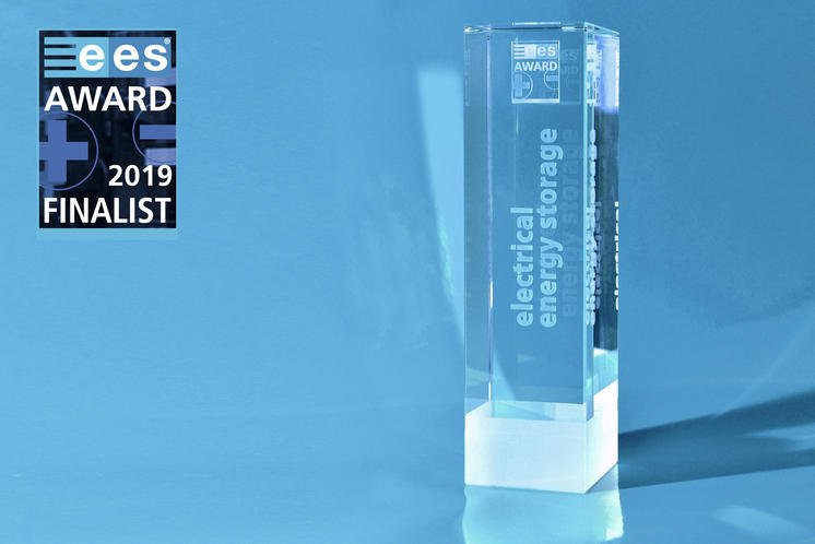 ees AWARD 2019 electrical energy storage finalist